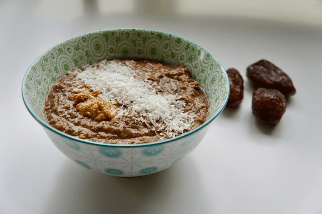 courgette havermout bowl recept