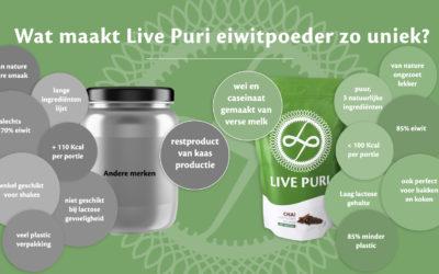 3 redenen waarom ik kies voor Live Puri eiwitpoeder