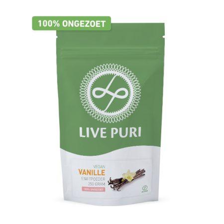 Live-Puri-vegan-eiwitpoeder-vanille-ongezoet-250gr