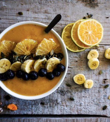 citrus kurkuma smoothie bowl 4